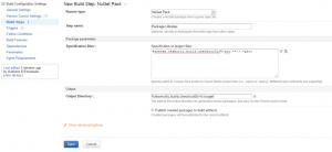 NuGet Package Step