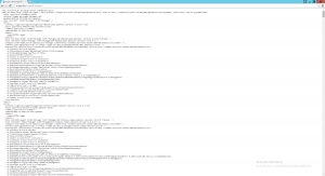 NuGet Server showing the Packages (XML feed)