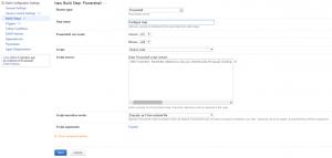 Powershell script setup for Gulp Configuration manipulation