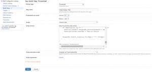Powershell script setup for Nuspec creation
